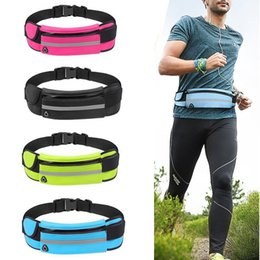 phone waist holder Canada - 1PC Running Waist Bag Waterproof Mobile Phone Holder Joggin Belly Fanny Bag Lady Sport Accessories Women Gym Fitness