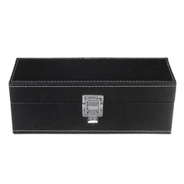 $enCountryForm.capitalKeyWord NZ - 1PCS PU Leather Coin Storage Box Case 20 Pcs Coins Collection Organizer Security Display Holder Container Boxes 23x8x8cm Black