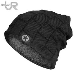 Knit hat fleece lining online shopping - 2018 Unisex Fleece Lined Beanie Hat Knit Wool Warm Winter Hat Thick Soft Stretch For Men And Women Fashion Skullies Beanie