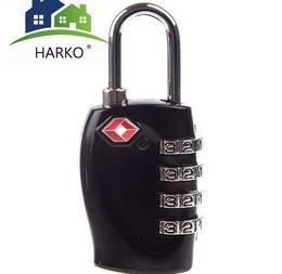 $enCountryForm.capitalKeyWord UK - Top Selling 4 Digit Black TSA Combination lock Suitcases Luggage bags Padlock