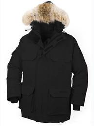 Warmest Goose Down Parka NZ - 2018 Down Coat Goose Men's Snow Mantra Parka Long Detachable Down Jacket Breathable 90% White Goose Down Fashion Hooded Warm Jacket