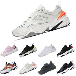 designer fashion a5b24 69b08 Nike M2K Tekno 2018 M2K Tekno Vieux Grand-père Running Chaussures Pour  Hommes Femmes Sneakers Athlétique Formateurs Professionnel Sports de Plein  Air ...