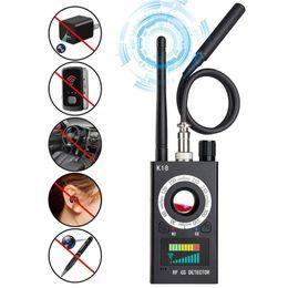 Wholesale Gps Radio Australia - New Wireless Signal Detector Bug RF Detector Anti Mini Camera Finder Radio Wave Signal Full Range GSM Device Finder GPS Tracker
