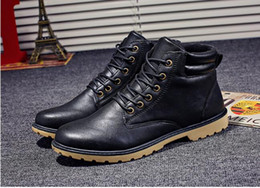 $enCountryForm.capitalKeyWord Australia - 2018 autumn and winter new Martin boots men plus velvet mens inner cotton shoes high boots, mens shoes wholesale free shipping fast delive