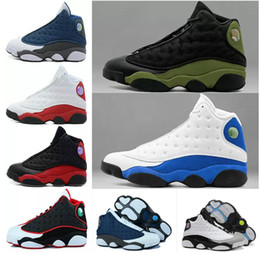 e05a852e3 13 Melo Back to School Phantom He Got Game 2018 HYPER ROYAL Olive Bordeaux  Chicago bred Basketball Shoes 13s Wheat Sports shoes Men Athletic