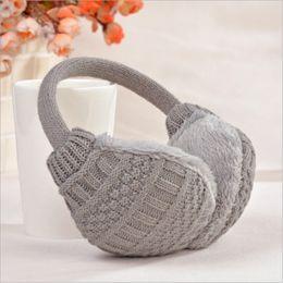 $enCountryForm.capitalKeyWord NZ - New Warm Ear Muffs Cover Winter Knitted Earmuffs For Women Winter Ear Protector Plush Warmers