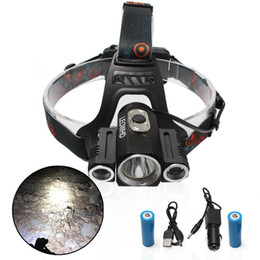 China XML-T6 +Q5 High Power Light Led Headlight headlamp for Camping Traveling Head lamp 1000 Lumen Suit for 2pcs 18650 Battery cheap xml q5 suppliers