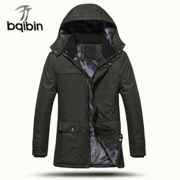 Plus Size Winter Parka Canada - 2018 Hot Sale Thick Winter Jacket Men Parkas Windproof Warm Long Parkas Men Coat Winter Jackets Plus Size 3XL