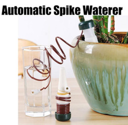 watering tools 2019 - Automatic plant waterer Watering potted flowers Drip irrigation device Creative Plant Watering Device Garden tools KKA60