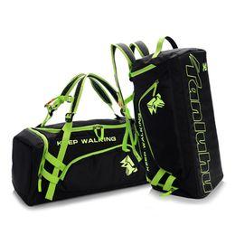 Discount shoes black zipper for men - Waterproof Travel Bag Separate Space for shoes Men Luggage Duffel Totes Backpack Women Shoulder Bag Big Size Fitness Han
