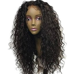 HigH ligHted Human Hair online shopping - 300 High Density A Lace Front Human Hair Wigs for Black Women Wet Curly Brazilian Virgin Hair Glueless Lace Wig