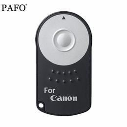 Venta al por mayor de 1 UNID Caliente RC-6 RC6 Infrarrojo IR Control Remoto Inalámbrico de Cámara Con la batería Para Canon EOS DSLR 5D Mark II 500/550/600/650