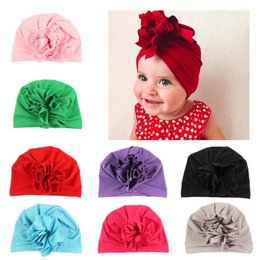 $enCountryForm.capitalKeyWord Australia - Children cute pure colored children India hat India style head decorated the Best Gift for Girls
