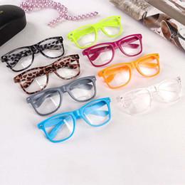 b1bf04230b3 Hot Sunglasses Unisex sunglasses Rivet Sunglasses Retro Color Unisex Punk Geek  Style Clear Lens Glasses Free Shipping