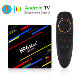 Android tv box wifi remote online shopping - 4GB GB Smart TV Box Android RK3328 Quad Core Google Voice Remote Control Min PC G G Streaming Media Player G Wifi K D H96 Max
