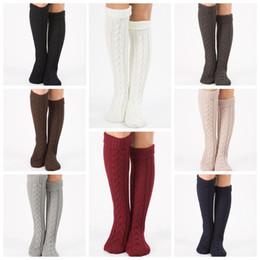 c4a884f9e31 8 Colors 2pcs pair Winter Over Knee Socks For Women Girls Leg Warmer Soft  Knitting Crochet Socks Female Thigh High Socks CCA10383 30pairs