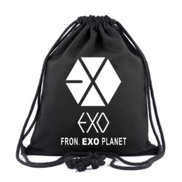 Exo Fromplanet Kris Luhan Sehun Canvas Travel Bag Schoolbag Backpack New Luggage & Bags