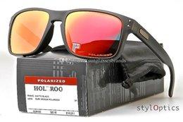 KUPNEPO 5 OK44 Frete Grátis OO9102 O Série Ocasional Dos Homens Das Mulheres Moda Óculos POLARIZADO MATTE PRETO / ÓCULOS DE SOL RUBI IRIDIOS venda por atacado