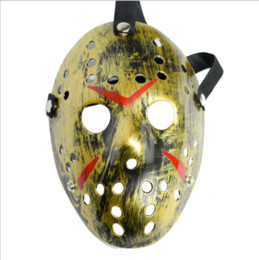 black jason hockey mask UK - New Jason vs Friday The 13th Horror Hockey Cosplay Costume Halloween Killer Mask