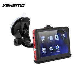 Gps Car Portable Australia - GPS Navigator Vehicle GPS Navigator FM Car Digital Portable Bluetooth Multifunctional Sensors