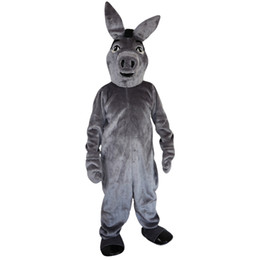 $enCountryForm.capitalKeyWord NZ - 2018 New high quality Grey donkey Mascot costumes for adults circus christmas Halloween Outfit Fancy Dress Suit Free Shipping013