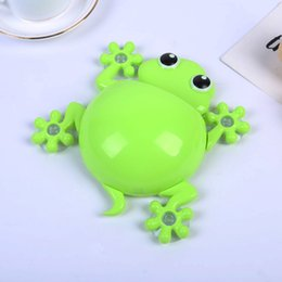 $enCountryForm.capitalKeyWord UK - Eco-Friendly Cartoon Sucker Gecko Toothbrush Holder Wall Suction Hook Tooth Brush Holder Home Decor For Kids Bathroom Accessories