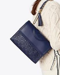 Toptan satış Ünlü Tasarımcı klasik Messenger çanta tasarım zinciri deri crossbody covertible Elmas Kafes omuz cabrio flap çanta