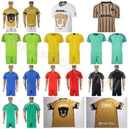 2019 MEXICO Club LIGA MX FC UNAM Goalkeeper 14 FIGUEROA Soccer Jersey Set  24 Jose Alberto Castillo 1 Alfredo Saldivar Football Shirt Kits 6da7680d6