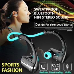 Wireless Headphones Mic Blue Australia - P9 Wireless Bluetooth Headphone Sport Stereo Headset with Mic CVC Noise Cancellation Sweat Resistant for Xiaomi Huawei