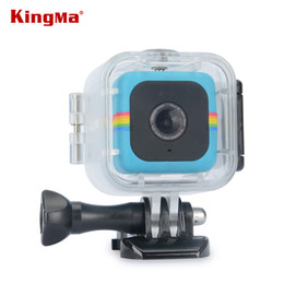 $enCountryForm.capitalKeyWord NZ - ccessories Parts Camera Bags Cases KingMa Transparent Waterproof Case for Polaroid Cube and Cube+ Action Video Camera Underwater 45M Wate...