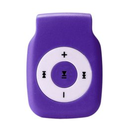 Chinese  Advanced 2017 New 5 Colours Portable MP3Mini Clip Metal USB MP3 Player Support Micro SD TF Card Music Media Drop Shipping manufacturers