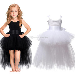 christmas boutique clothes 2019 - Baby girls TuTu lace princess dress Children Net yarn suspender dresses 2018 summer Boutique Kids Clothing 3 colors Ball