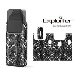 Vapor mod skins online shopping - Aspire Breeze Sticker styles factory Wraps vapor Box Mod Customized Paper Cover Sticker Electronic Cigarette Skins For Aspire Breeze