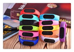 smart watch running Canada - Led bracelet watch Smart Multi Watch silicone Run Step Walking Distance Calorie Counter Watch Electronic Bracelet Colorful Pedometers