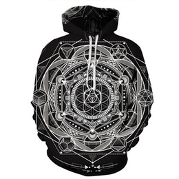 $enCountryForm.capitalKeyWord UK - 2018 New 287 Magic Circle Mandala Flower 3D Printed Women Jacket Hooded Femme Sweatshirt Casual Loose Men Pocket Hoodies Coat