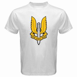 New SAS United Kingdom Special Forces Army Men s White T-Shirt Size S-3XL  Ment Shirt Summer Style Men S High Quality Tees top 37f0e0bdc