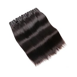Chinese  VIP Brazilian Straight Hair Extensions 100% Human Hair Weave 1pcs  100g Brazilian Remy Unprocessed Hair Weaving manufacturers