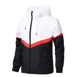 Cool Sweatshirt Jackets Canada - 2018 Designer Jacket Hooded Fashion Men Sportswear Casual Sporting Spring Autumn Cool Boy New Sweatshirt Hoodie Windbreaker
