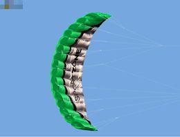 $enCountryForm.capitalKeyWord NZ - Free Shipping High Quality 2.5m Red Dual Line Parafoil Kite WithFlying Tools Power Braid Sailing Kitesurf Rainbow Sports Beach