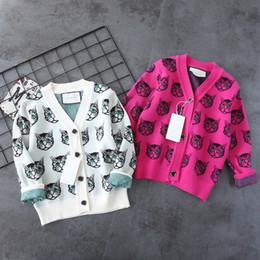 Cardigan bimbo bicolore 2018 maglione misto cashmere autunno e inverno Tessuto personalizzato, altissima tecnologia, comfort e traspirabilità in Offerta
