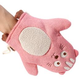 Chinese  Baby Shower Sponge Bathtubs Ball Towel Lovely Animals Scrubber Newborn Bathroom manufacturers