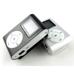 Мини-MP3-плеер для MP3-плеера с поддержкой Micro TF / SD с наушниками и USB-кабелем Портативные MP3-плееры Бесплатная доставка