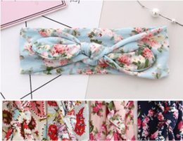 White Rabbit Hair Australia - Hot Floral Mother & Child Set Small Floral Hair Band Headdress Parent Rabbit Ear Hair Band
