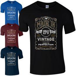 5bc3c54b433 Cool Vintage T Shirts NZ - Made in 1941 T-Shirt Born 77th Year Birthday