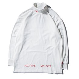 e80d26ee63f White shirt turtle neck online shopping - Turtle Neck Long Sleeve T Shirts  Mens Autumn Hip