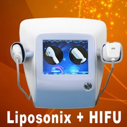 Wholesale fat reduction ultrasound machines therapy liposonix slimming lipo hifu liposunic machine factory sale in1 ultrasonic wave treatment