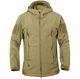 China Army Camouflage Coat Military Jacket Waterproof Windbreaker Raincoat Hunt Clothes Army Men Outerwear Jackets And Coats cheap hunting camouflage jacket suppliers