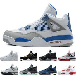 $enCountryForm.capitalKeyWord Australia - Hot 4 4 Men Basketball Shoes Eminem Thinker Alternate Motorsports Blue Game Royal Fire Red White Cement Pure Money Sports Sneakers trainers