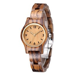 $enCountryForm.capitalKeyWord UK - Hot Selling Luxury Ladies Wooden Watches Small Girl Wood Wristwatches Minimalist Female Clock
