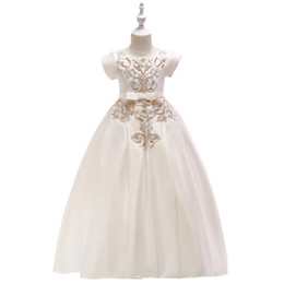 $enCountryForm.capitalKeyWord UK - Children's dress princess dress Girl's white floor-length gown Short sleeved embroidered wedding dress long style FASHION FOR ALL SEASONS